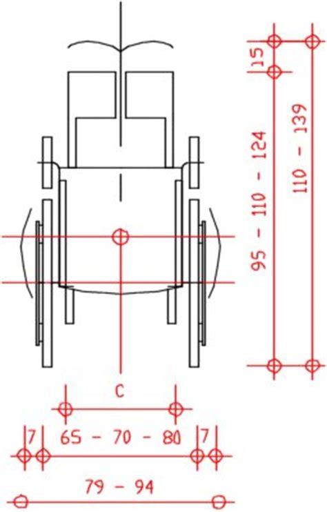 Dimensione Sedia A Rotelle by Barriere Architettoniche Sedia A Rotelle Disabili