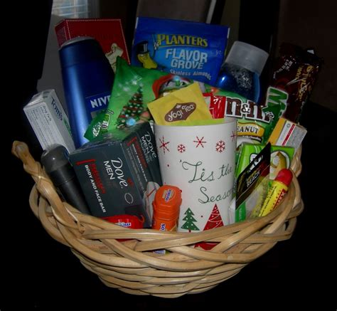 inexpensive gift idea gift basket i created for under