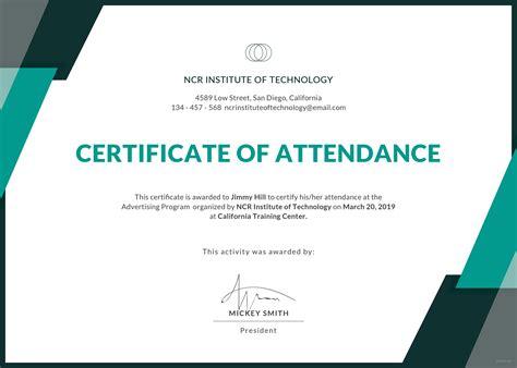 Conference Certificate Template Costumepartyrun