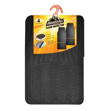 floor mats menards armor all 174 4 piece rubber floor mats at menards 174