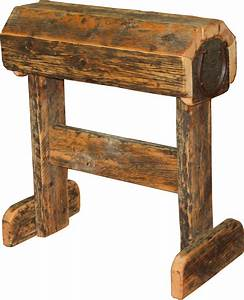 Barnwood Saddle Stand @ Durango Trail Rustic Furniture