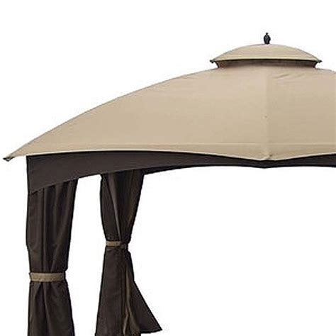 allen and roth gazebo allen roth dome 10x12 replacement canopy and netting