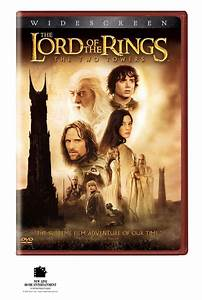 THE LORD OF THE RINGS THE TWO TOWERS WIDESCREEN DVD ...
