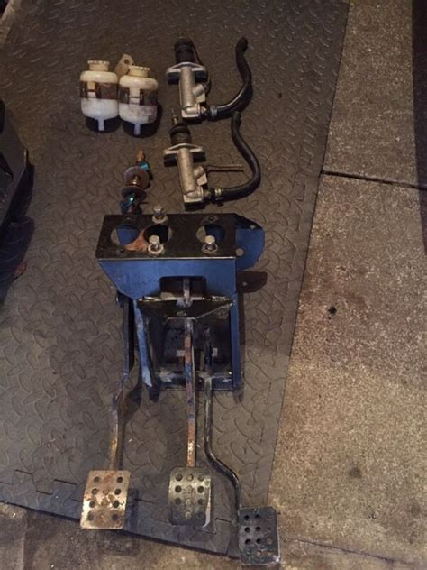 mk ford escort brake bias pedal box  larbert falkirk