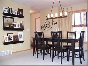dining room simple dining room wall decor ideas dining With simple ideas on the dining room table decor