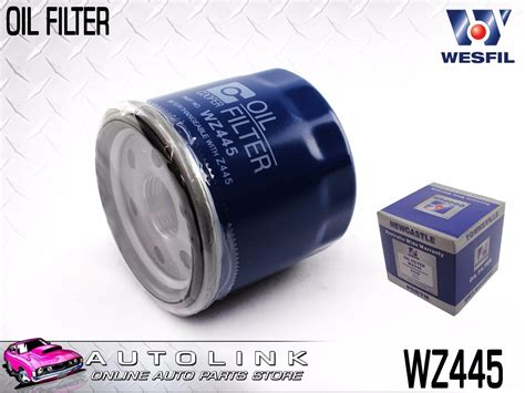 wesfil oil filter suit nissan murano