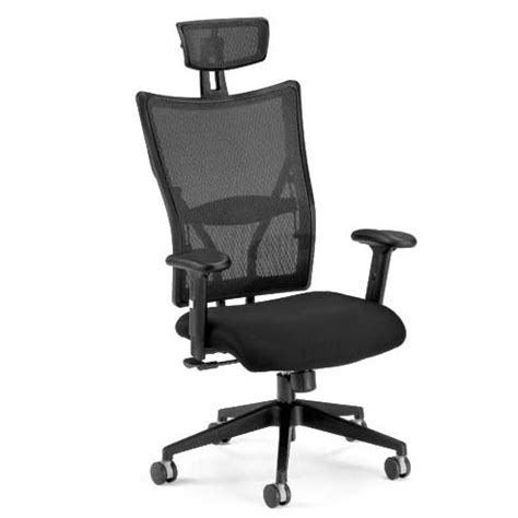 ofm executive mesh high back chair with headrest 590 f