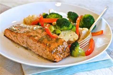 Pair this easy salmon recipe with a simple salad and a side of roasted potatoes or quinoa. Mustard-Glazed Salmon | Recipe (With images) | Salmon glaze recipes, Glazed salmon, Low ...