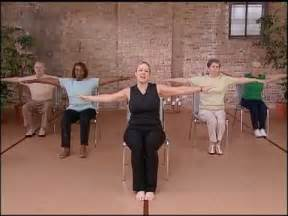 Geriatric Chair Exercises by Core Fitness Chair Pilates Workout Abdominal Exercise