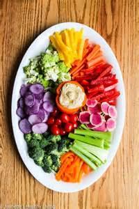 Crudite Vegetable Platter Ideas