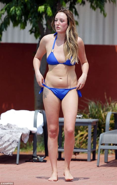 Charlotte Crosby Jumps Naked Into Cannes Swimming Pool On Her Friends Snapchat Daily Mail Online