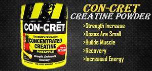 Con-cret Concentrated Creatine Powder Review