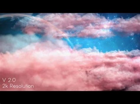Pink Cloud Fantasy Sky Stock Footage YouTube