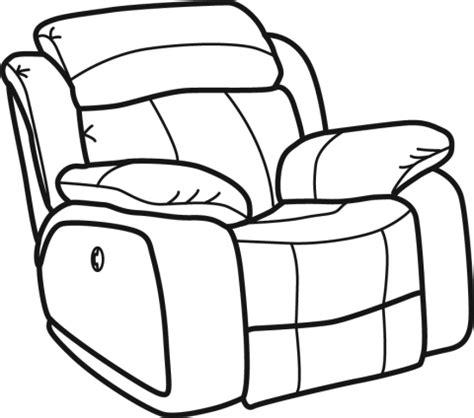 sofa vetorizado sofa clipart recliner chair pencil and in color sofa