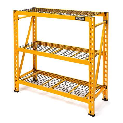 Rack Industrial by Dewalt 48 In H X 50 In W X 18 In D 3 Shelf Steel Wire