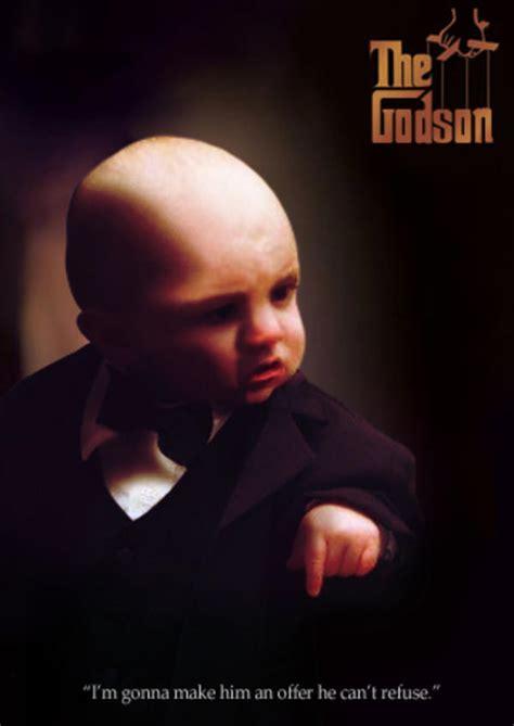 Baby Tuxedo Meme - image 174309 baby godfather know your meme