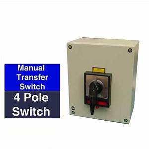 Three Phase Manual Transfer Switches For Manual Transfer