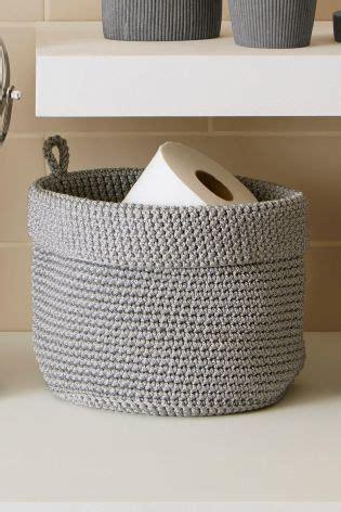Small Storage Baskets Bathroom by Best 25 Storage Baskets Ideas On Baskets For