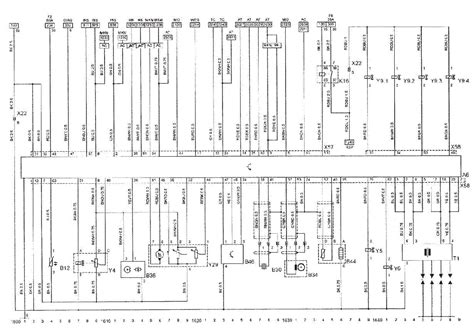 opel vectra b wiring diagram service manual schematics eeprom repair info for