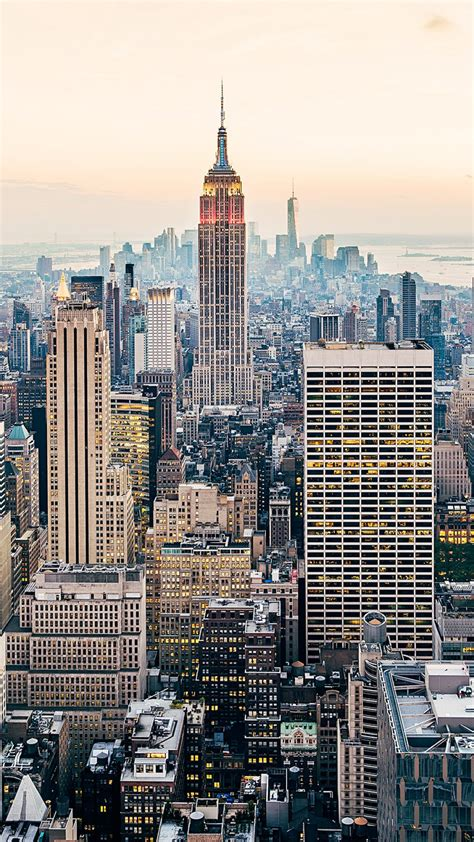 wallpaper  york city skyline cityscape skyscrapers