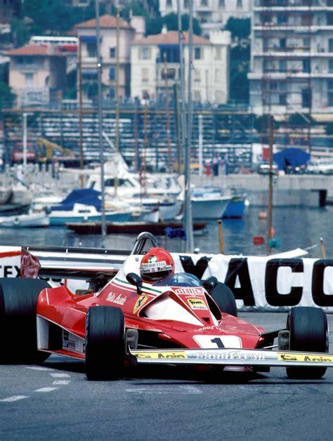 Niki lauda's near fatal accident was at km 10.4 between ex mühle and bergwerk corners. Niki Lauda, Ferrari 312T2, 1976 Monaco GP, Monte Carlo | Monaco grand prix, Formula 1 car ...