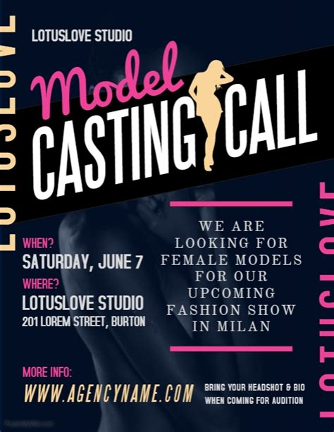 c cast to template casting call template gallery template design ideas