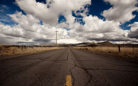 nature, Road, Sky, Landscape Wallpapers HD / Desktop and ...