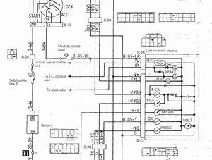 Mitsubishi Starion Wiring Diagram
