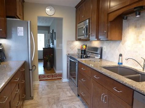 small galley kitchen remodeled