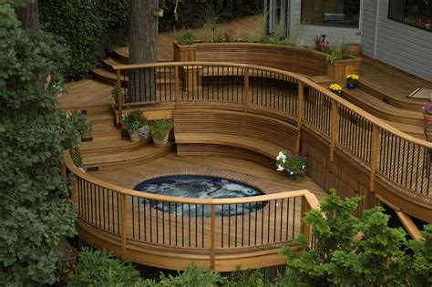 Patios & Decks : Patio And Deck Design Ideas For Backyard