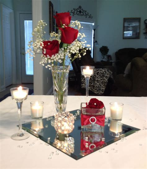 low budget wedding centerpiece by vera all for one day