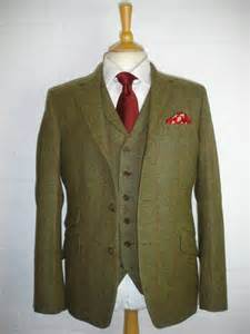 3 Piece Tweed Suit