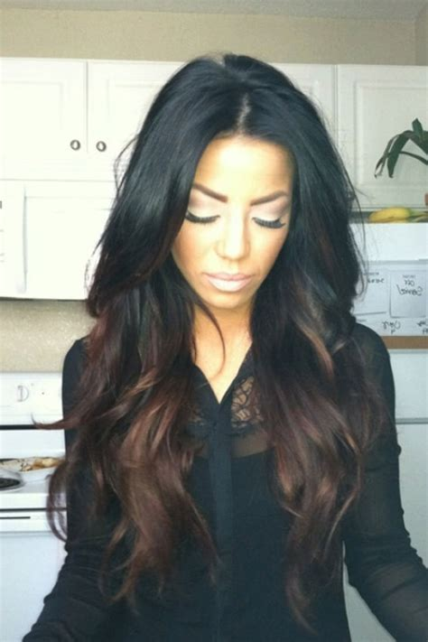Hair Color For Black by American Ombre Hair Color Ideas Black Hair Ology