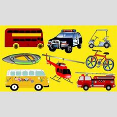 Modes Of Transport For Kids Learn Types Of Vehicles Children (kids Series #2) @babyschooltv