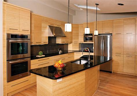 bamboo kitchen cabinets bamboo kitchen asian kitchen oklahoma city by