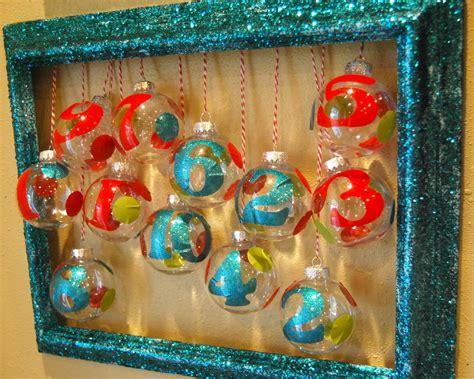 homemade ornament advent calendar allfreeholidaycrafts com