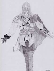 How to draw Assasin s creed