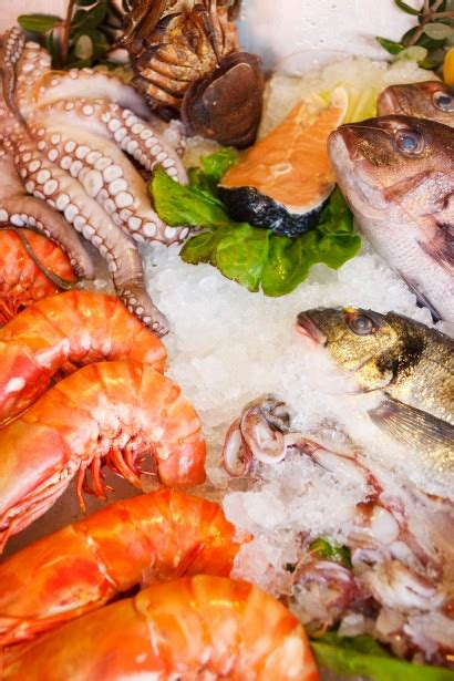 fresh seafood  stock photo public domain pictures
