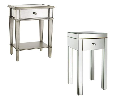 home goods table ls mirror night tables mirrored nightstands on sale mirrored