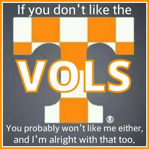 Tennessee Memes - i m positive you won t like me then tennesseevols pinterest enough said