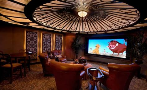 modern media room designs   blow