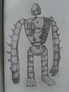Robot Soldier - Castle in the Sky by bubordoni on DeviantArt