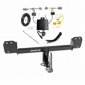 Trailer Tow Hitch For 19 Volvo Xc40 W   Wiring Harness Kit