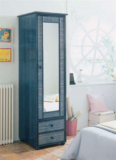 bureau couleur miel armoire 1 porte miroir en rotin brin d 39 ouest