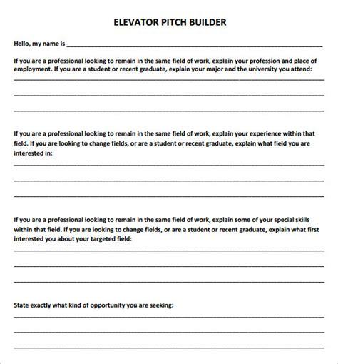 resume elevator pitch elevator speech sle free