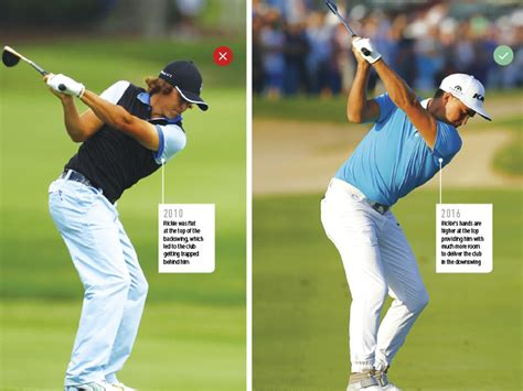 golf swing guide rickie fowler golf swing tips golf monthly