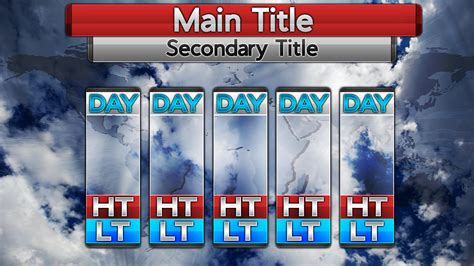 weather forecast template blank 5 day forecast template calendar june