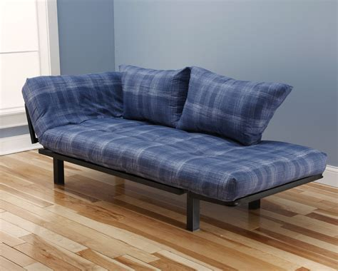 lounger futon spacely futon daybed lounger with mattress dungaree by kodiak