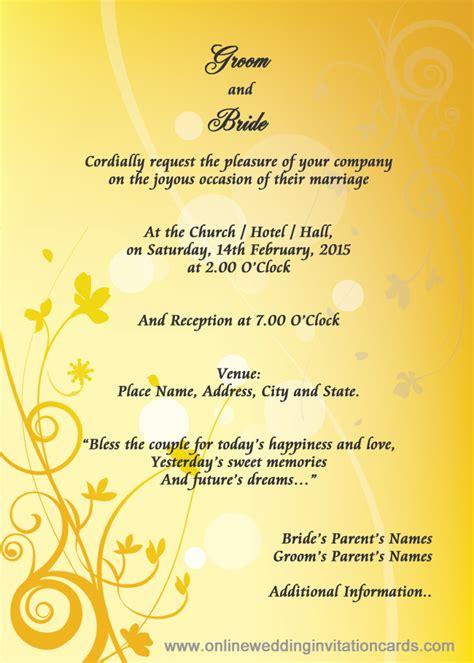 Best Images Of  Ee  Wedding Ee    Ee  Invitation Ee   Cards Samples Modern