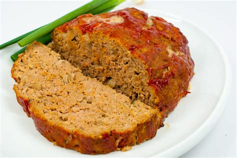 Remove and discard stems from mushrooms. Turkey Meatloaf - Diabetes Daily
